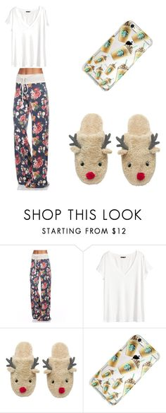 """""""Cozy Christmas wear"""" by soccer2star ❤ liked on Polyvore featuring H&M"""