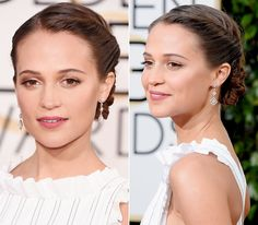 We compiled a list of our favorite red carpet updos from Sunday night's ceremony in Los Angeles.