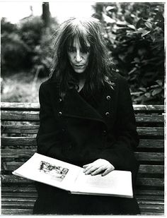 Watching a live webcast of Patti Smith on CBS Sunday Morning. Patti Smith inspires me to use what I've got and not whine.