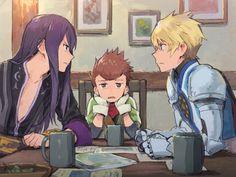 Tales Of Xillia, Tales Of Vesperia, Tales Of Destiny, Tales Series, Anime Ships, Anime Artwork, Manga, Anime Guys, My Arts