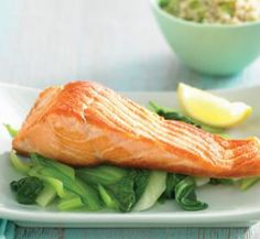Lemony Atlantic salmon | Australian Healthy Food Guide