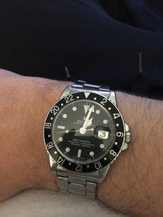 Rolex GMT Master I Plexi