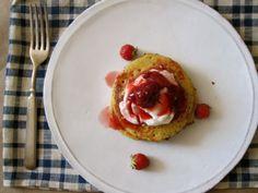 Gluten-free lemon cornmeal pancakes