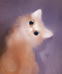 Those eyes!!! #cat #art