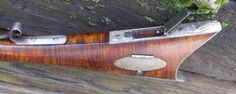 "Tennessee Mountain Rifle custom made by D.K. Lisle.  Stump Cut Curly Maple Stock, Getz .50 cal ""B"" Weight Swamped Barrel x 44"", Modified Chambers Ketland Flintlock,  Chambers White Lightning Vent Liner, Modified Davis Set Triggers, Extended Tang Handmade Nosecap, Entry & RR pipes, Patchbox, Toeplate, Sideplate, Buttplate, Triggerguard, &  Brass Front & Rear sights. Toeplate & Buttplate Copper Riveted, All iron is aged, Weight  7.5 lbs, Drop at Heel  3"", LOP is  13 1/2"" Length  60"""