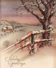 Vintage Christmas Cards                                                                                                                                                                                 More