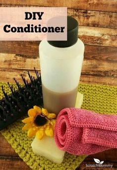 Making your own DIY conditioner is simple, frugal, and the ingredients in this particular recipe are easy to find! Get the recipe here.