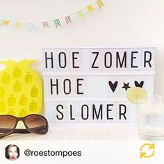 @roestompoes Wat een prachtige foto met de mooie #lightbox van @kidsdinge #kidsdinge #interior #interieur #quote #summer #zomer #lichtbak #regram #welovekidsdinge