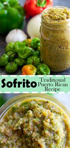 Sofrito, also called