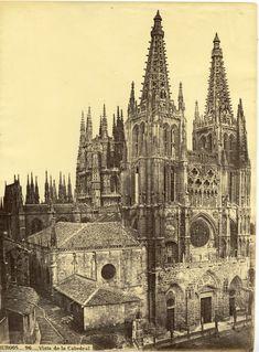 Laurent. Espagne Burgos-Vista de la Catedral #Europe #Espagne_Espana