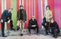 The Yardbirds with Eric Clapton, Jeff Beck and Jimmy Page and Their innovations paved the way for psychedelic and progressive rock. Jeff Beck, Jimmy Page, Eric Clapton, Rolling Stones, Cathy Mcgowan, Sandie Shaw, Gene Pitney, Walker Brothers, Terry O Neill