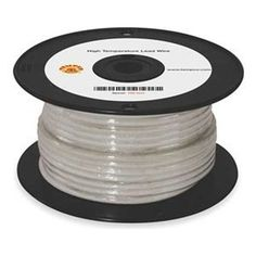 Wire, High Temperature by Tempco. $280.63. Types MG, TGGT, and PTFE High-Temp. Lead WiresFor commercial or industrial applications, heaters, furnaces, kilns, and food service equipment.Type TGGTInsulated with PTFE tape over stranded nickel-plated copper conductors, then 2 layers of fiberglass insulation. Covered by PTFE-treated fiberglass overbraid for safe, high-temp. applications.UL 5256, CSA AWM Class 1 Group A/B.Rated for 600VThis item is manufactured by a minorit...