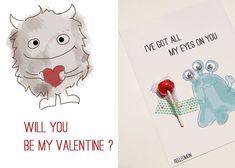 Karten zum Valentinstag (Printable) | DIY LOVE