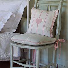 Duck Egg Vintage Chair Cushion