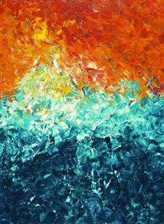 Original Abstract Art | Impasto Canvas Painting | Acrylic Painting On Canvas | Certificate Of Authen