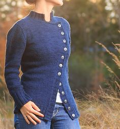 Ravelry: Craigleith Jacket pattern by Shaulaine White (The lighting in this photo is what really catches my eye.)