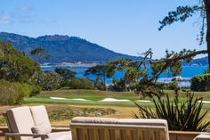 Private Estate in Pebble Beach, California   |   Hidden from the road and set well back from its frontage on the second fairway of the world-renowned Pebble Beach Golf Links, this uniquely private estate rests on two-acres with views of the golf course and the ocean, Stillwater Cove, and Point Lobos.  via @carmelrealty