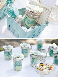 Cute As A Button First Birthday Party {or Baby Shower}