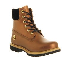 6b82deb57a Timberland Premium 6 boots Nutmeg Sonatina Gold - Ankle Boots