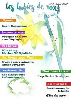Webzine Les Lubies de Roxy, le Mag - mois d'Avril