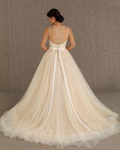 veluz reyes 2013 ready to wear bridal collection karmina back -- Veluz Reyes Wedding Dresses 2013 Wedding Dress 2013, Dream Wedding Dresses, Wedding Gowns, Tulle Wedding, Dresses 2013, Sophisticated Bride, Mod Wedding, Wedding Blog, Wedding Ideas