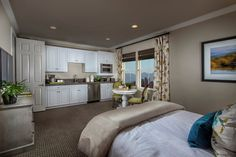 New Homes in Rancho Cucamonga, CA - La Ventana Residence Four - Junior Suite
