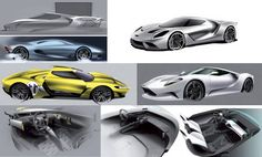 OFFICIAL: FORD GT 2015 development sketches.