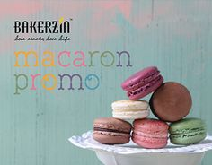 "Check out new work on my @Behance portfolio: ""Bakerzin Macaron Promo"" http://on.be.net/1HWatDQ"