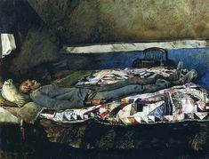 Andrew Wyeth Garret Room 1962