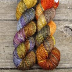 Soul Food - Northumbria Fingering - Babette | Miss Babs Hand-Dyed Yarns & Fibers, Inc.