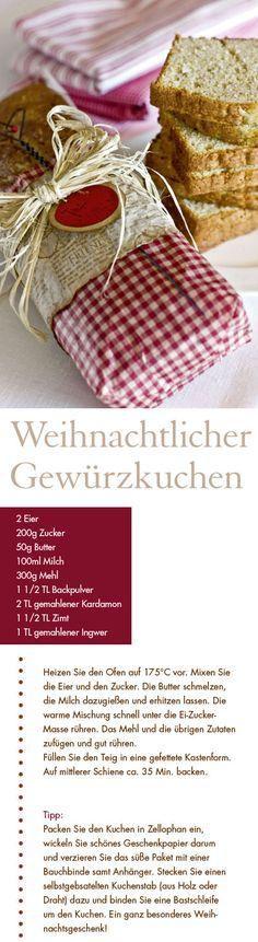 Leckeres Gewürzkuchen Rezept aus dem Buch: Skandinavische Winterzeit von Miriam…