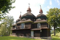 Vysny Komarnik, Slovakia - very rare wooden churches - a must-see on my next trip!