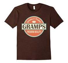 Gramps Tee Grandpa Fathers Day Vintage T-shirt - Male Small - Brown Homewise Shopper http://www.amazon.com/dp/B018356NVS/ref=cm_sw_r_pi_dp_e4AAwb1Z59YS9