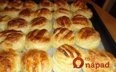 Jemné domáce pagáčiky zo zemiakovo-maslového cesta. Naplnia krásnou vôňou celú vašu kuchyňu.