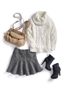 Winter white is in for fall. Here's how to rock the look. #ELLE #Kohls