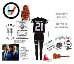 """Taylor"" by sierra-erwin101 on Polyvore featuring River Island and Converse"