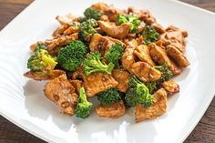 Serves 4 Ingredients 1 lb boneless, skinless chicken breast, cut into 1 inch pieces 1 salt, to taste 1 black pepper, to taste 2 clove garlic, minced 4 green onion, green and white parts, chopped 1⁄2 cup low sodium chicken broth 2 tbsp teriyaki sauce 2 cup brown rice, cooked and kept hot 4 cup broccoli, cut into florets and steamed Directions Season chicken with salt and black pepper to taste. Spray a large nonstick skillet with cooking spray and heat over medium-high heat. Add garlic and…