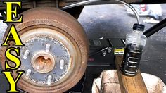 How to Do a Brake Fluid Flush. Learn how to do a complete brake system flush to remove all of the old, water logged brake fluid out and replace it with fresh. Rv Truck, Car Fix, Classic Car Restoration, Brake Fluid, Car Hacks, Hacks Diy, Car Mods, Diy Car, Tutorial