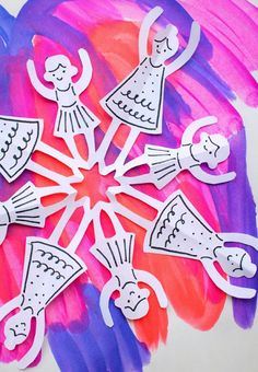 Dancer Paper Snowfla