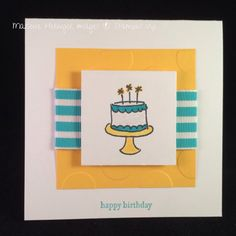 Stampin' Up! Endless Birthday Wishes, Teeny Tiny Wishes