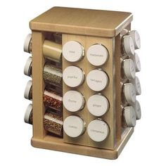 Kitchen Cabinets Ideas   Sugar Maple Carousel Spice Rack Spice Carousel Count 32 Bottles *** Want additional info? Click on the image(It is Amazon affiliate link). #commentteam