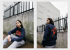 19-year-old photographer Vicky Grout captures Billionaire Girls Club's SS16 collection on the streets of East London.