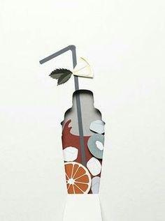 Super Ideas for book art collage negative space 3d Paper Art, Paper Artwork, Diy Paper, Paper Crafts, Foam Crafts, Kirigami, Paper Cutting, Architecture Origami, Design Art