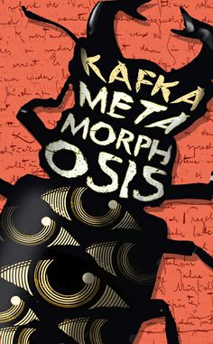 Metamorphosis by Franz Kafka. Speculative book cover design by Jennie Rawlings for Serifim.
