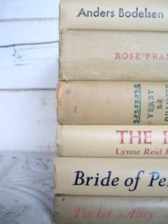 Tan Books Instant Library Collection Vintage by sorrythankyou79