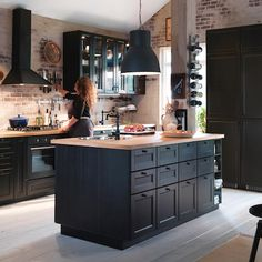 At IKEA you'll find all the kitchen cabinets, appliances and fittings you need to turn any urban location into a cosy family cookhouse. Description from kitchen-compare.com. I searched for this on bing.com/images