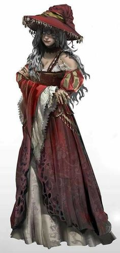 Dark Fantasy, Fantasy Witch, Witch Art, Fantasy Rpg, Fantasy Wizard, Witch Characters, Dungeons And Dragons Characters, Female Characters, Female Character Design
