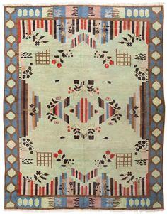 Art Deco Indian Rug 44915 Main Image - By Nazmiyal
