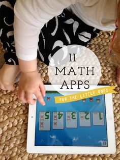 11 Math Apps for the Little Ones (Part Two) {from Playful Learning} Some of the apps are free, others not too pricey! Learning Apps, Kids Learning, Toddler Activities, Learning Activities, Stem Activities, Homeschool Math, Homeschooling, Curriculum, Kindergarten Math