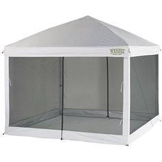 Screen tent for food.....Found @ Wal-Mart: Wenzel Smartshade Screenhouse, 10' x 10'-- $187.00